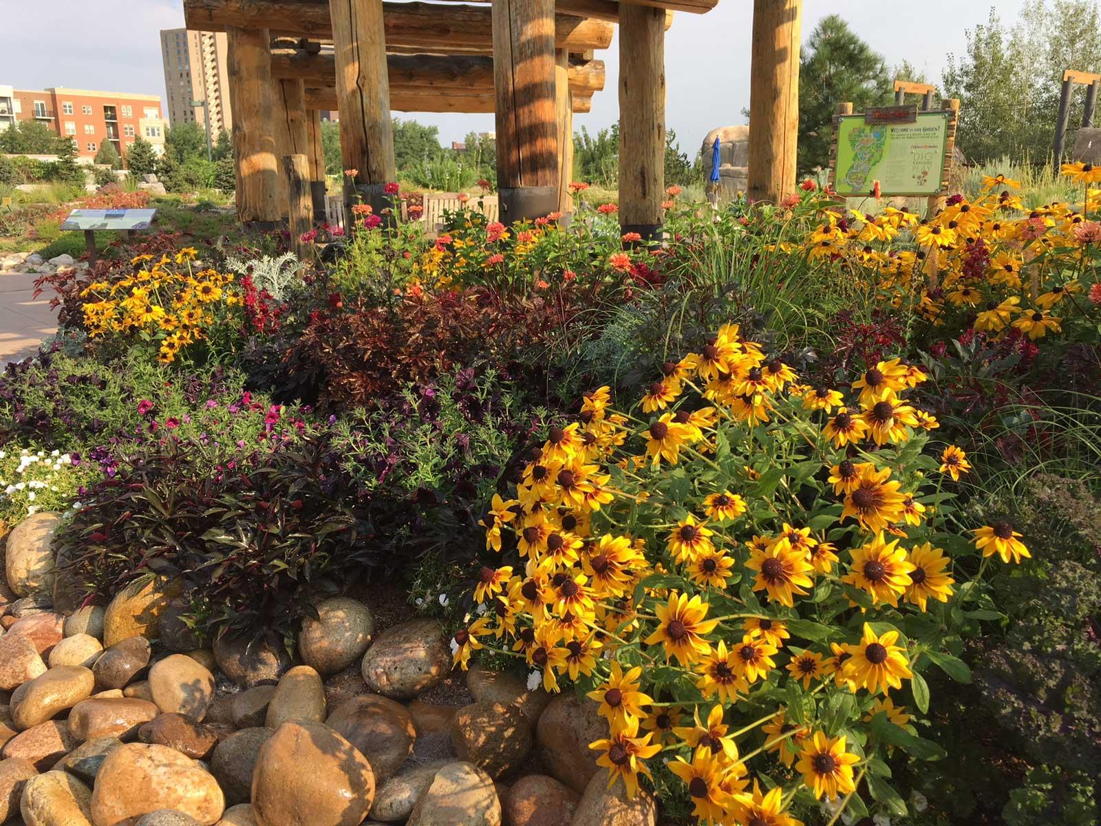 Denver Botanic Gardens - Mordecai Children\'s Garden - Green Roofs of ...