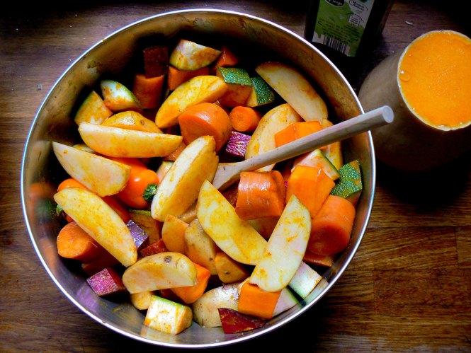 groente-met-kurkuma
