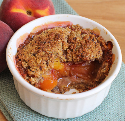 Perfect Vegan Peach Pie, Healthy & Yummy