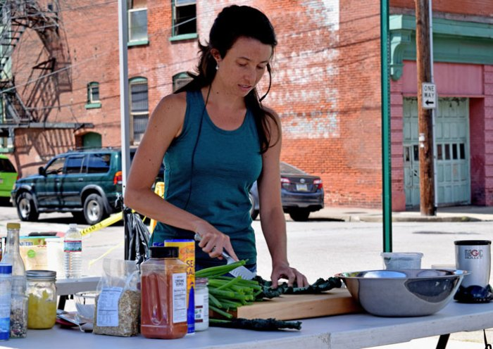 Bethlehem VegFest 2015 - Cooking Demonstration