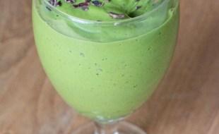 vegan matcha mint chip green smoothie recipe