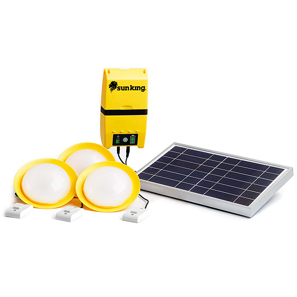 Sun King Home 120 solar system for homes and businesses