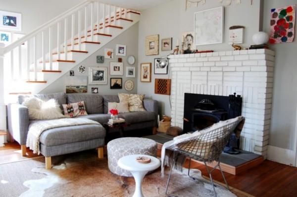 casa de campo muebles de sala Sala De Estar En Una Casa Privada Foto Interior Sala De