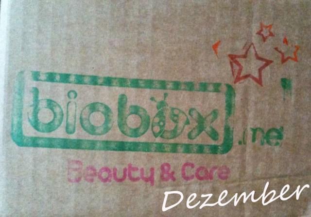 biobox beauty & care dezember 2013 Kopie