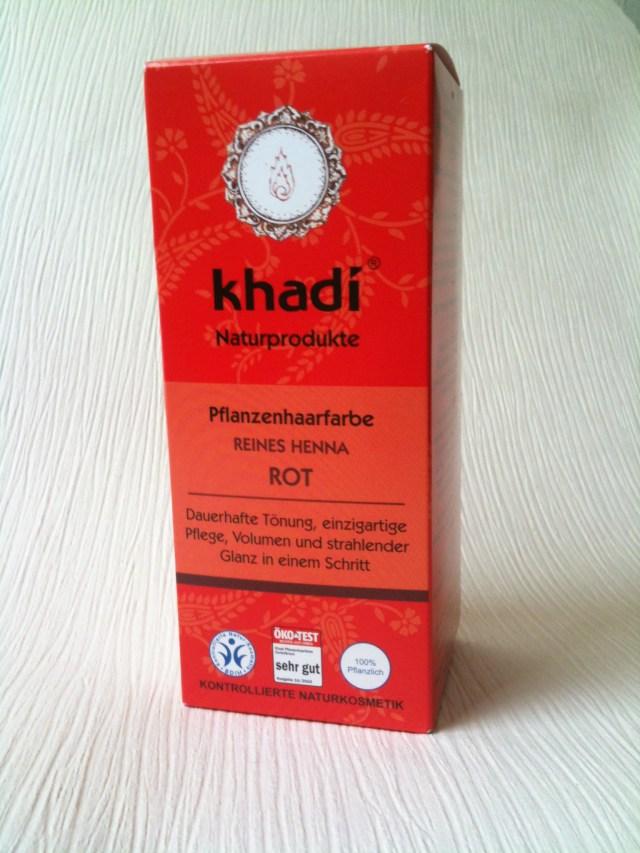 Khadi reines Henna rot 1