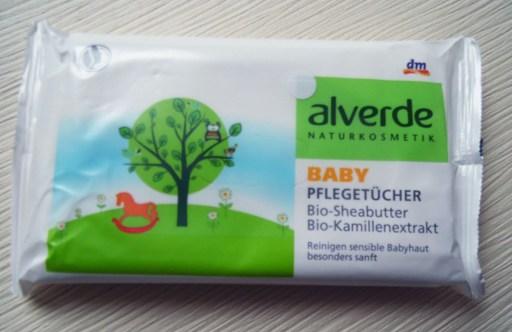 alverde baby pflegetücher natrue naturkosmetik neu