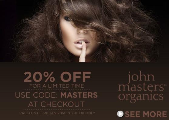 john masters organics rabatt code