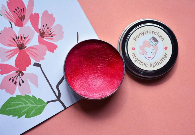 Ponyhütchen Lip Butter Kiss me quick vegan