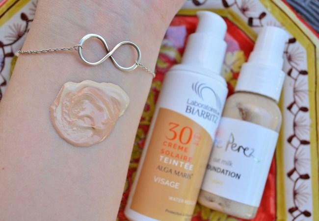 Gesichtspflege im Urlaub Alga Maris Gesicht Sonnenschutz SPF 30 Naturkosmetik