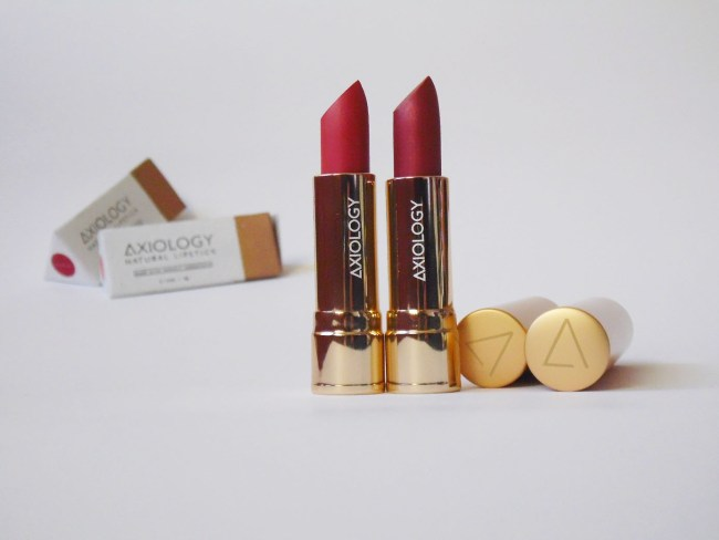 Axiology Lipsticks Review