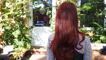 Blondieren rot braune ohne haare färben Braune Haare