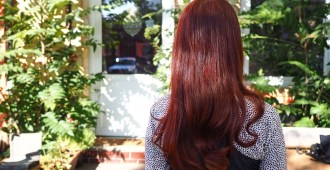 Light Mountain Henna hair