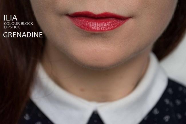 ILIA Colour Block Lipstick Grenadine