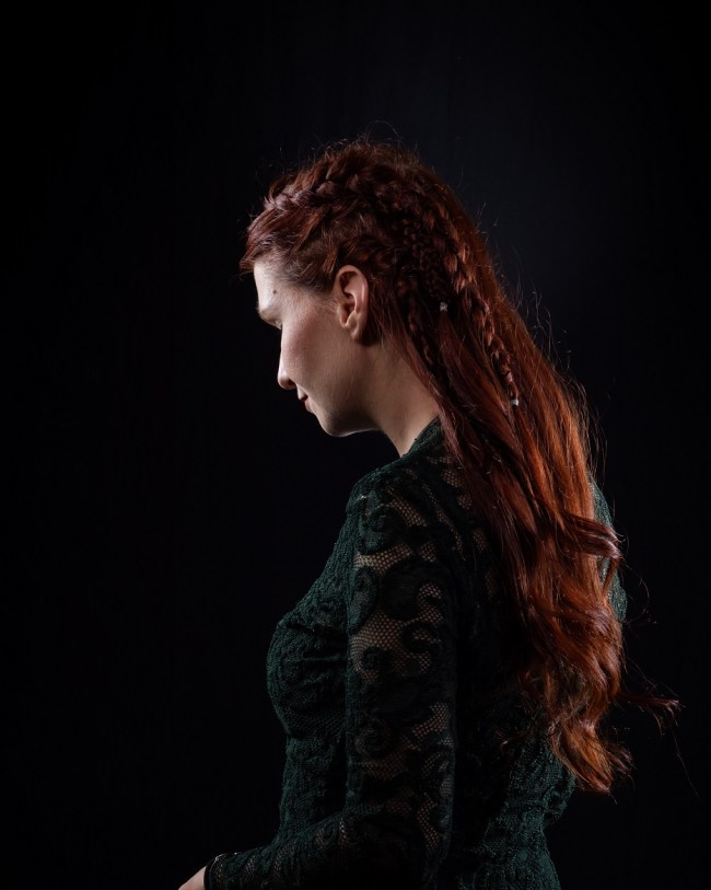 Vikings Hair Lagertha Hairstyle red hair