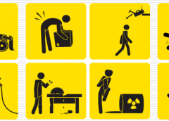 Images showing Workplace Safety Tips