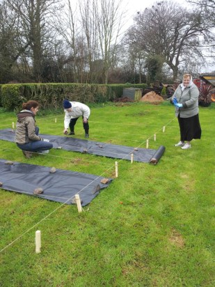 Leighlinbridge Parish Community Garden - 16th March