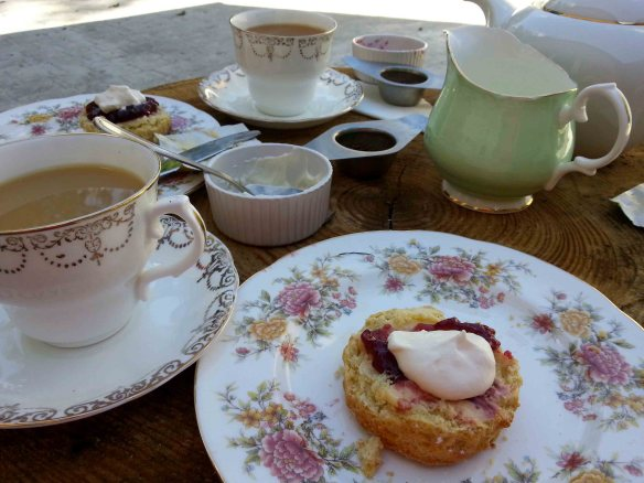 Cream Tea at Rathvinden House, Leighlinbridge