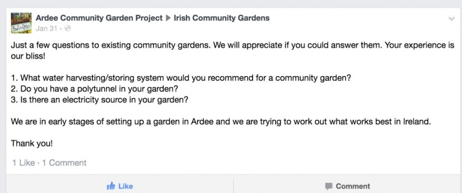 Start Up Essentials for a Community Garden