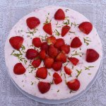Strawberry Cheesecake Recipe by Greenside Up
