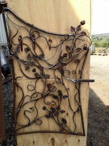 Gillespie Polytunnels turn their hands to beautifully crafted gates too!