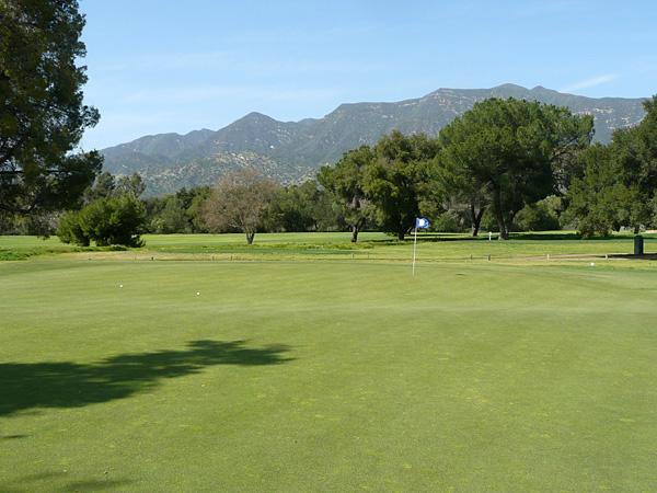 Soule Park Golf Course Ojai California Hole 5