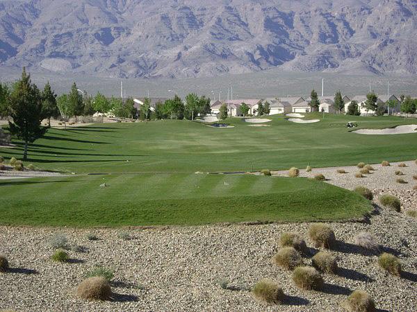 Aliante Golf Club North Las Vegas Nevada Hole 16