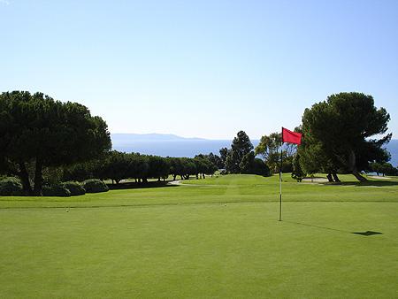 Los Verdes Golf Club Rancho Palos Verdes California Hole 12 Green-side