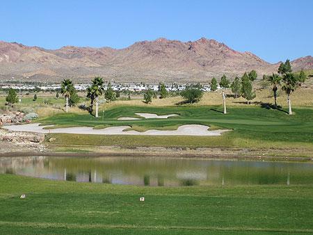 Boulder Creek Golf Club Boulder City Nevada Hole 8 Coyote Run