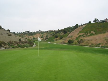 Shorecliffs Golf Club San Clementa California Hole 6 looking back Par 4