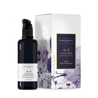edible beauty hydrating lotion vanila silk