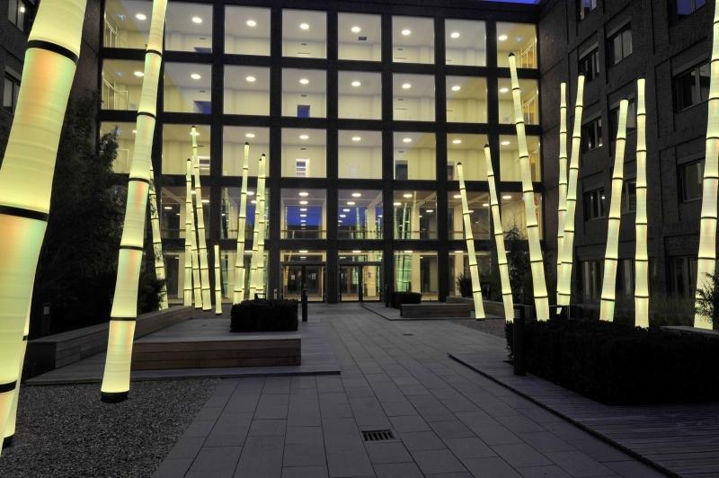 Kreativ belysning i offentlig miljö – Greenspire Trädgårdskonsult