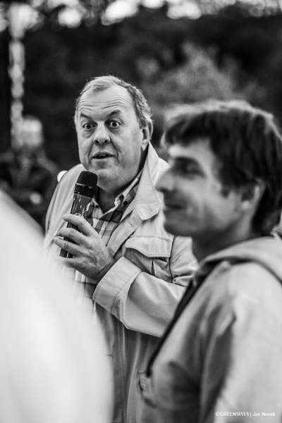 Frederic Roux Maire de Mollans-sur-Ouvèze soutient l'association greenspits
