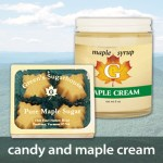 Maple Candy and Maple Cream