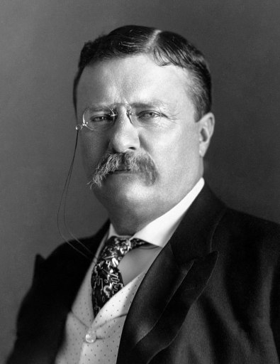 Photograph of President Theodore Roosevelt. The Best Republican presidents versus Trump.