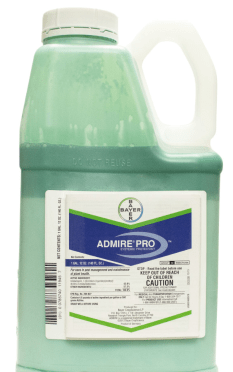 Bayer's insecticide product, Admire, is 43% imidacloprid.
