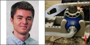 В Калифорнии инженер Александр Левенко на 3D принтере напечатал простейший аппарат искусственной вентиляции лёгких (ИВЛ)