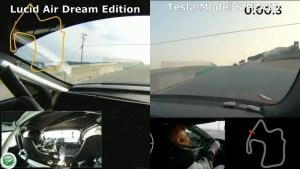 Великое противостояние Tesla Model S PLAID и Lucid Air Dream Edition на трассе Laguna Seca