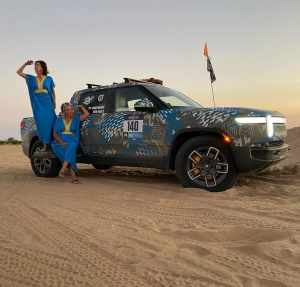 Rebelle Rally - женский ралли-рейд. 2000 км дистанции на электрическом пикапе Rivian R1T