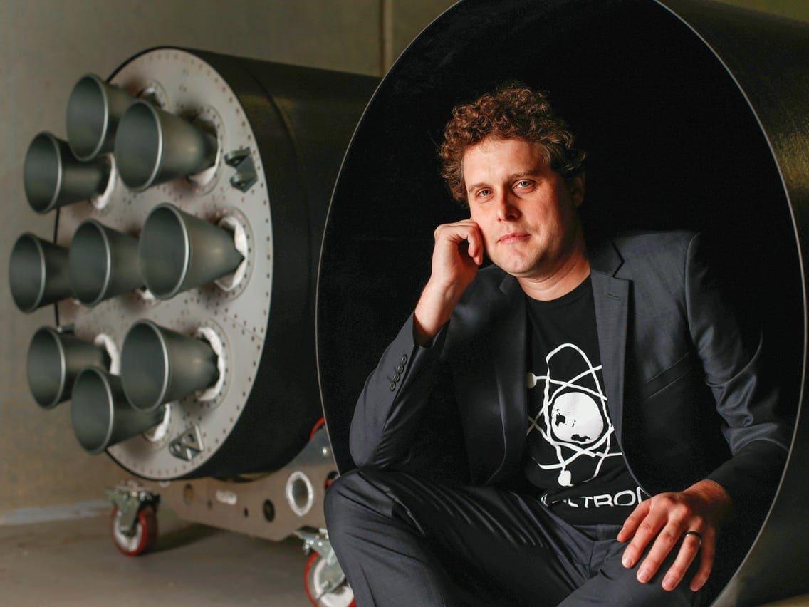 Rocket Lab Peter Beck 2