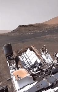 По сети начало распространяться видео со звуком, якобы снятое марсоходом Perseverance – это фейк