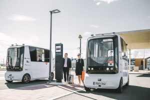 Эстонский автономный шаттл Iseauto компании Auve Tech начал европейскую экспансию