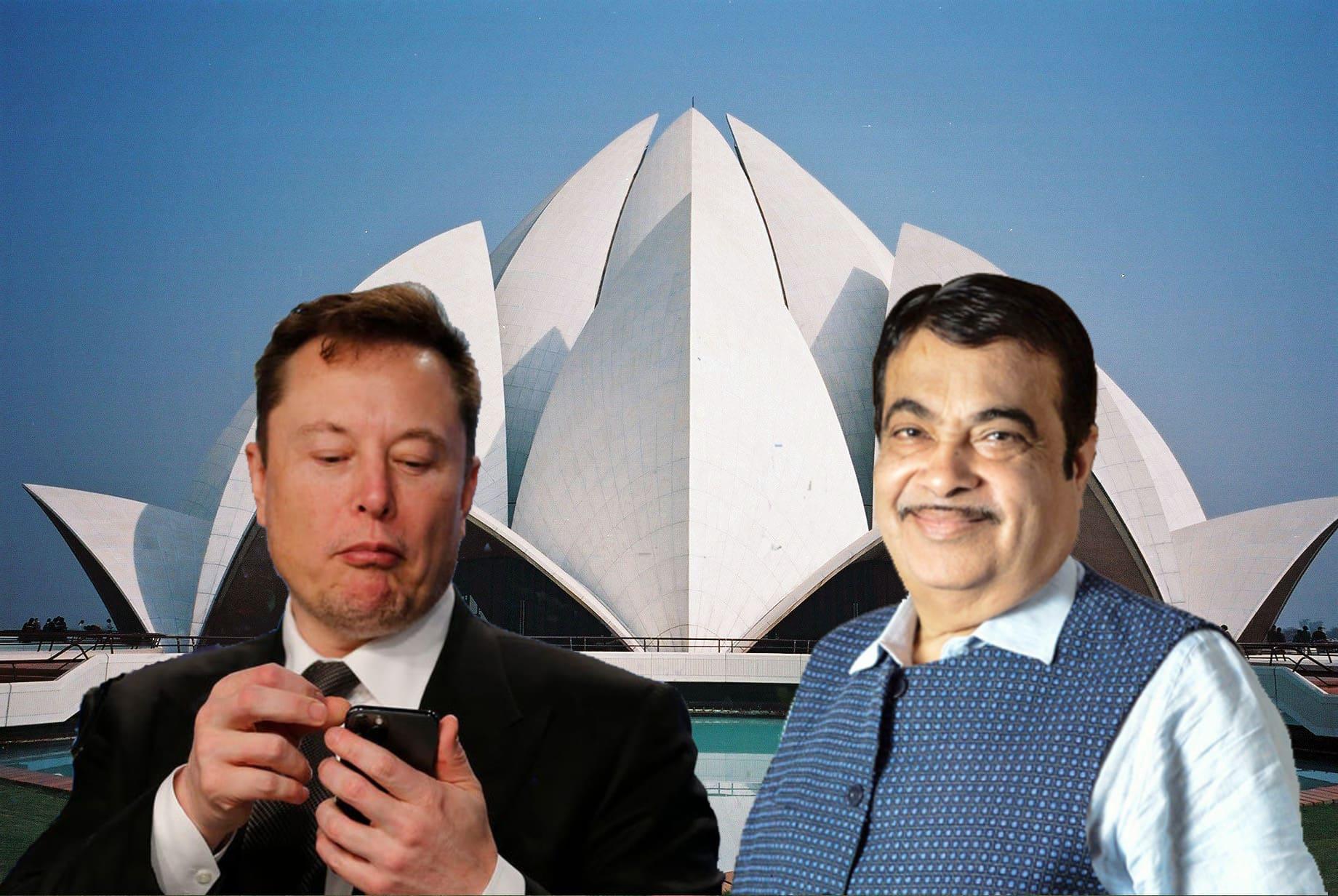 Илон и Минтранса Индии