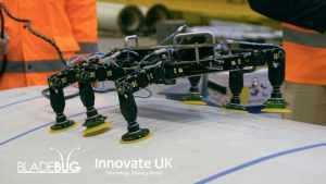 Робот-паук BladeBUG займётся инспекцией и обслуживанием оффшорных ветрогенераторов