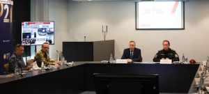 Генерал армии Виктор Васильевич Золотов проверил ход подготовки международной выставки передовых технологий «EXPOTECHNOSTRAZH-2021»