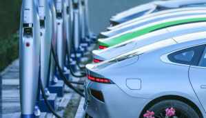 XPeng на зарядке в Китае