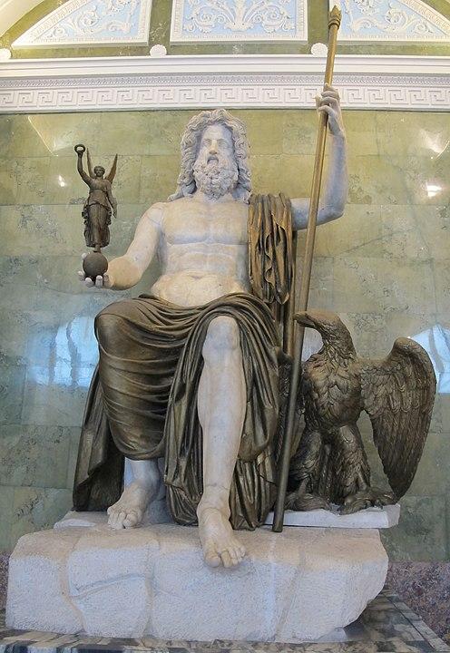 Статуя Зевса-Юпитера