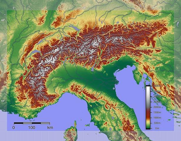 Альпы и предгорья - источник европейского лития