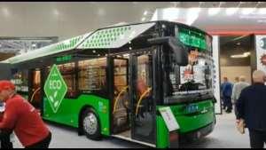 электробус МАЗ 303Е10 на COMTRANS 2021