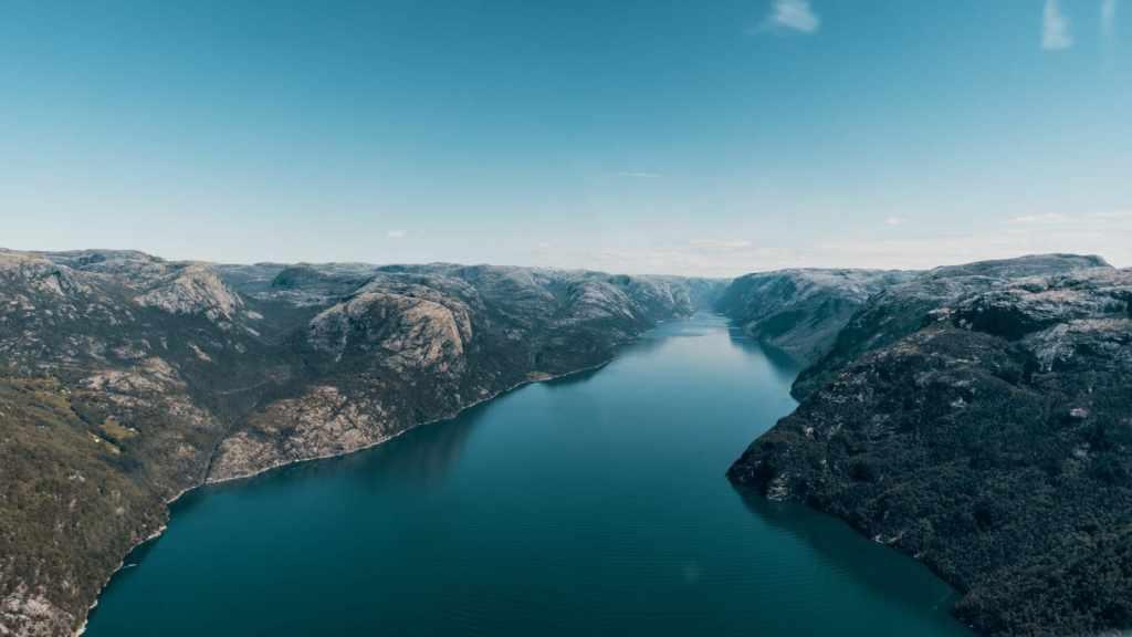 чистая энергия вырабатывается на ГЭС в Норвегии