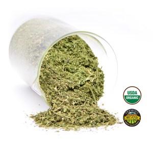 Organic CBD Hemp Biomass: T1 x Cherry Milled
